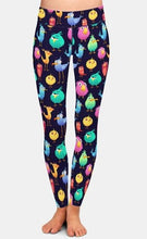Load image into Gallery viewer, Ladies 3D Cute and Funny Coloured Birds Digital Printed Leggings