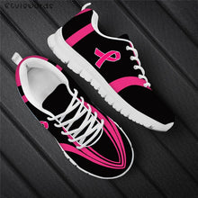 Load image into Gallery viewer, New Fashion Womens Breast Cancer Design Shoes