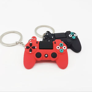 Cute Video Game Controller Keyrings - Great Gift Idea