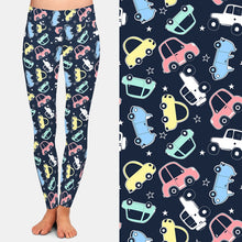 Load image into Gallery viewer, Ladies Fashion Cars Printed Leggings