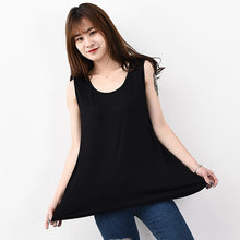 Load image into Gallery viewer, Ladies Plus Size Summer Oversized Tank Tops