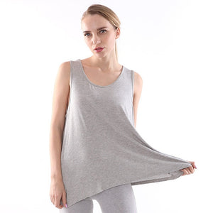 Ladies Plus Size Summer Oversized Tank Tops