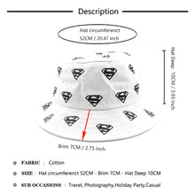 Load image into Gallery viewer, Kids Superman Printed Bucket Hats
