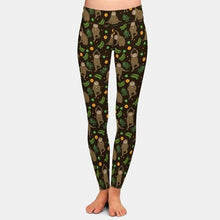 Load image into Gallery viewer, Ladies Assorted Soft Sloth Printed Leggings