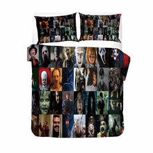 Load image into Gallery viewer, Newest Horror Movies Quilt Cover/Bedding Sets 2/3 Piece Room Decor