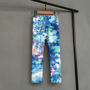 Kids Cute Assorted Patterned Leggings