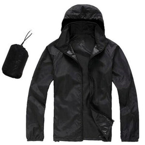 Mens/Womens Quick Dry Waterproof Ultra-Light Windbreaker Jacket