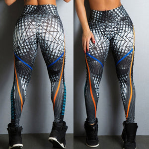 Streetwear Style Patterned Leggings
