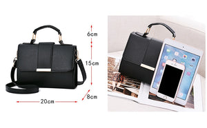 Fashion Womens Leather Look Handbags