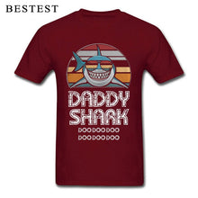 Load image into Gallery viewer, Fathers Day T-Shirt Mens Shark Printed Tee