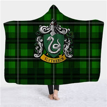 Load image into Gallery viewer, Soft 3D Harry Potter Printed Sherpa Hooded Blankets