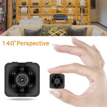 Load image into Gallery viewer, COP CAM Security Camera Video Motion Detection SQ11 Mini Cam Black