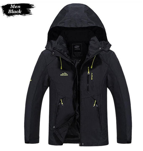 Mens & Womens Breathable Waterproof Hooded Jackets