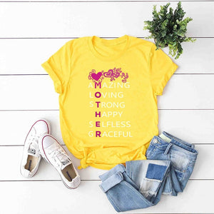 Mother Cute Fashion T-shirt