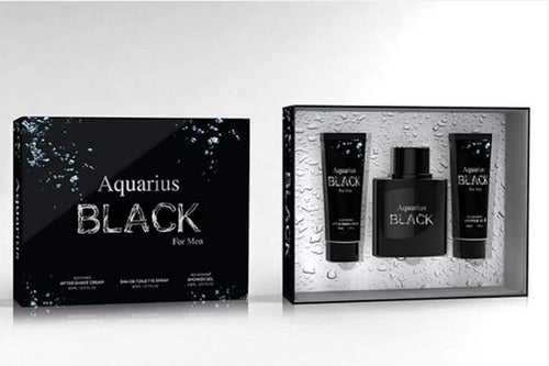 Mens Aquarius Black Aftershave Packs