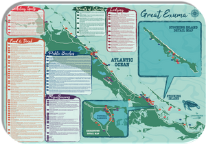 Great Exuma Map
