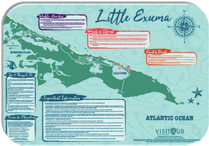 Little Exuma Map