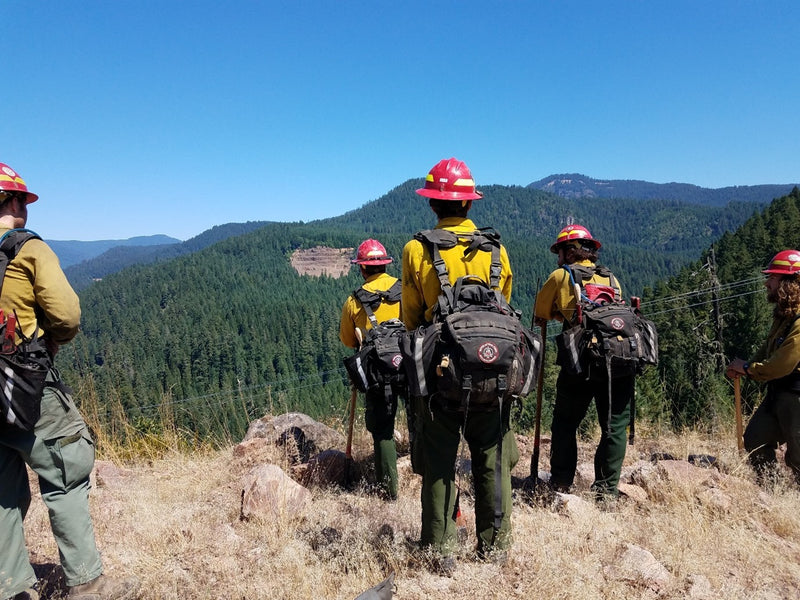 How Wildland Firefighters Can Stay Hydrated