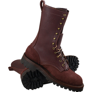 NFPA 1977 Wildland Fire Boots Hand Made Leather