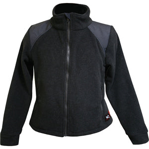 Women's Exxtreme Jacket (Black Nomex Fleece), DragonWear