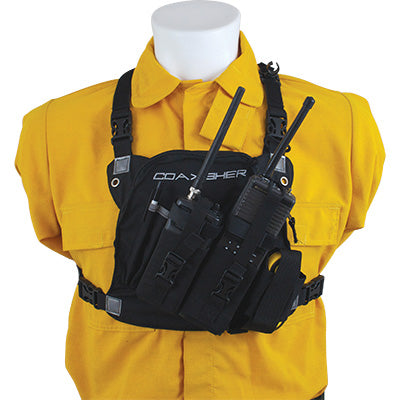 627.33003 radio chest harness dr 1 commander dual, coaxsher supplycache com radio harness at bakdesigns.co