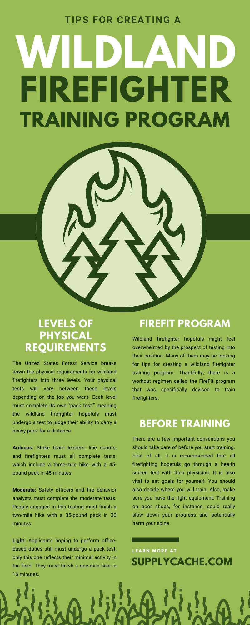 Tips for Creating a Wildland Firefighter Training Program