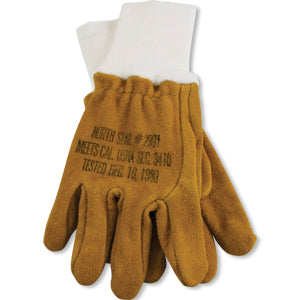 Wildland Firefighter Leather Glove Cal OSHA, North Star Glove