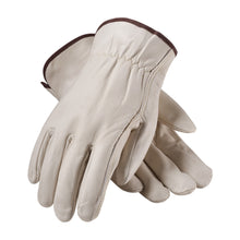 Driver Glove Leather & Elastic Back, PIP