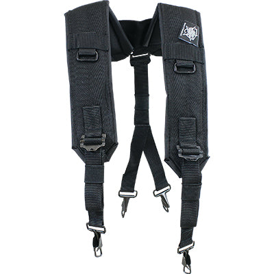 Suspenders Padded Nylon, Military