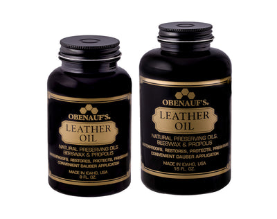 Boot Oil Leather Preservative, Obenauf's