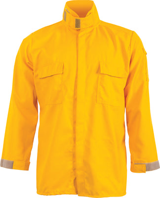 CrewBoss Tecasafe Plus Wildland Brush Shirt, Snap Closure