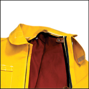 Tecasafe Plus Inter/EMS/Rescue Liner, Button-In (Red), CrewBoss