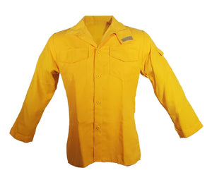 Tecasafe Plus 5.8 oz Brush Shirt (Yellow), The Supply Cache
