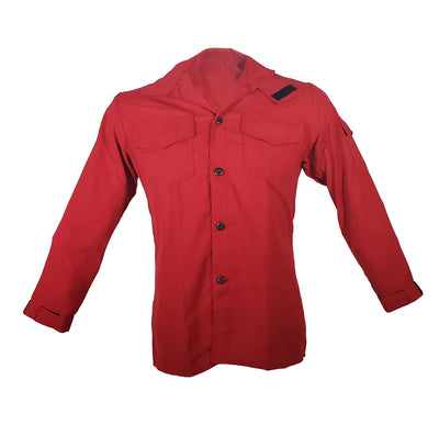 Tecasafe Plus 5.8 oz Brush Shirt (Red), The Supply Cache