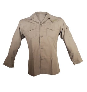 Tecasafe Plus 5.8 oz Brush Shirt (Khaki), The Supply Cache