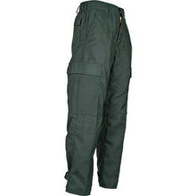 CrewBoss Classic NFPA 1977 rated wildland brush pants, advance rip-stop material SIDE