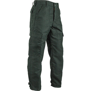Nomex 6.8 oz green classic wildland firefighter brush pants.