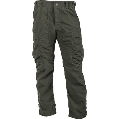 Green Tecasafe Plus 7 oz Elite brush pants.