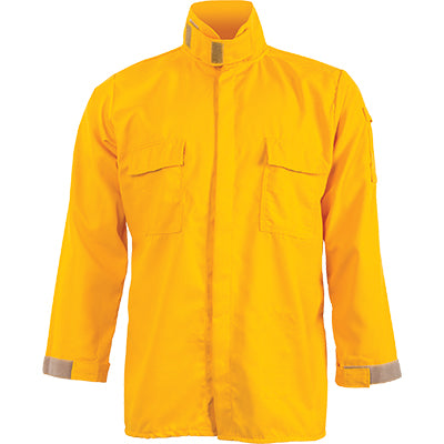 Nomex IIIA 6 oz Brush Shirt (Yellow), CrewBoss