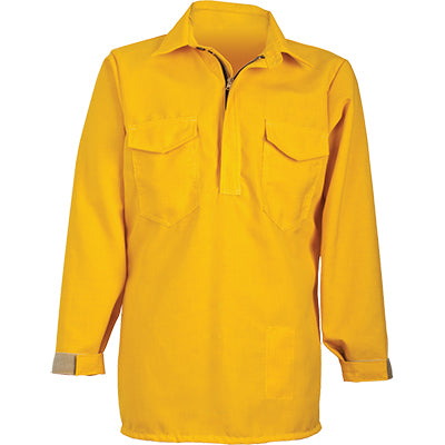 Tecasafe Plus 5.8 oz Hickory Brush Shirt (Yellow), CrewBoss