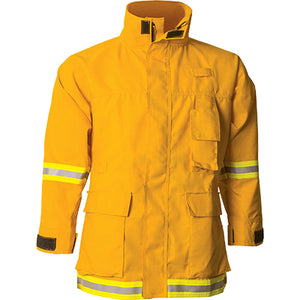 Nomex 7.5 oz Interface Coat (Yellow), CrewBoss