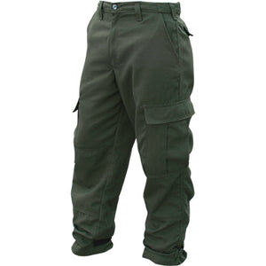 Tecasafe Plus 7 oz Brush Pants (Green), Topps