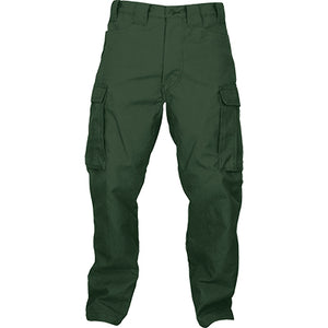 Slayer NFPA 1977 rated wildland brush pants, green advance FRONT VIEW