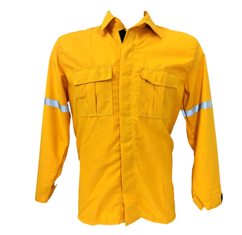 Nomex 6 oz Brush Shirt (Yellow), Lakeland