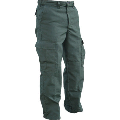 Our green brush pants designed for wildland firefighting.