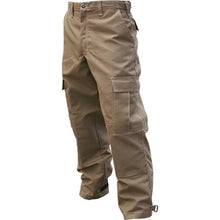 View of our khaki wildland firefighting brush pants.