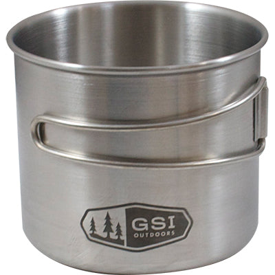 Glacier Bottle Cup/Pot- Stainless Steel (18 oz), GSI