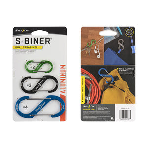 S-Biner Double Gated Carabiner Combo Pack, Nite Ize