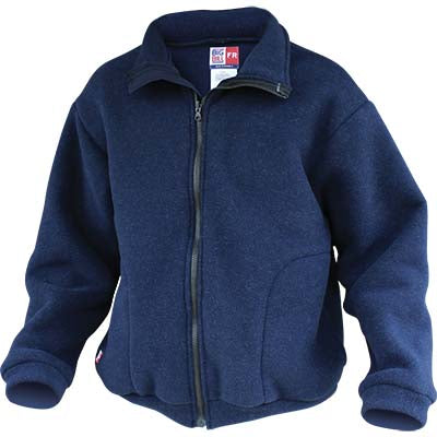 FR Fleece Jacket, 13 oz. Nomex (Navy), Big Bill