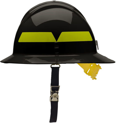 Full Brim Helmet with Pin Lock Suspension, Bullard